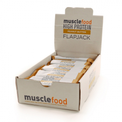 Peanut Butter Protein Flapjacks - 15g Protein-18 Bars