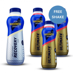 4 x 475ml For Goodness Shakes
