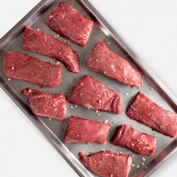 Free Range Centre Cut Steaks - 10 x 170g