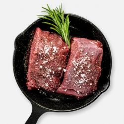 Free Range Beef Fillet Steaks -2 x 142g