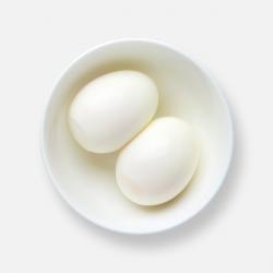Peeled Boiled Eggs - 2 Pack