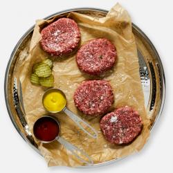 Extra Lean Free Range Steak Burgers - 4 x 114g