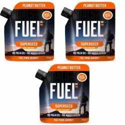 3 x Fuel 10K Super Seed Peanut Butter