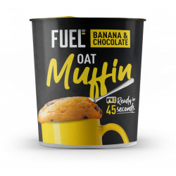 Fuel 10k Oat Muffin Pot - Banana & Chocolate