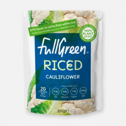 Fullgreen Low Calorie Riced Cauliflower 200g