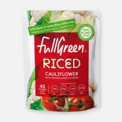 Fullgreen Mediterranean-Style Riced Cauliflower 200g