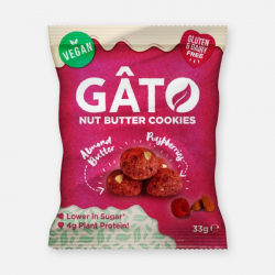 GATO Mini Cookies - Almond Butter & Raspberry 33g