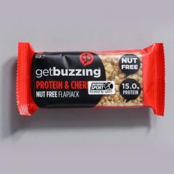 Get Buzzing Cherry Protein Flapjack -1 x 62g Bar