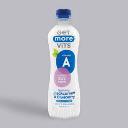 Get More Vitamin A - Sparkling Blackcurrant and Blueberry 500ml