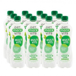 Get More Multivitamins - Sparkling Lemon & Lime 500ml