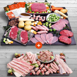 Luxury Beef Roast Hamper + Your £1 Trimmings