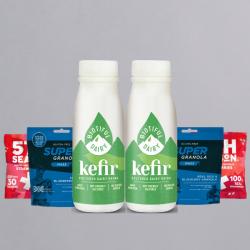 Granola and Kefir Breakfast Bundle