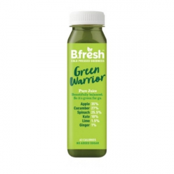 B.Fresh Cold Pressed Juices - Green Warrior