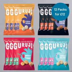 Guruji Variety Pack - 12 for £12.00