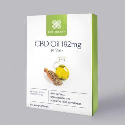Healthspan CBD Oil Capsules 192mg - 30 Capsules