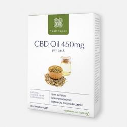 Healthspan CBD Oil Capsules 450mg - 30 Capsules