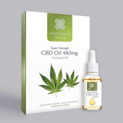 Healthspan CBD Oil 480mg (5%) Oral Drops  - 10ml