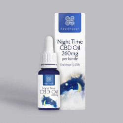 Healthspan Night Time CBD Oil - 260mg 10ml Oral Drops
