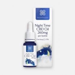 Healthspan Night Time CBD Oil - 260mg 10ml Oral Drops