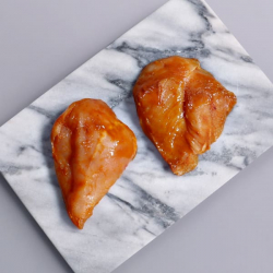 Hickory Barbecue Glazed Chicken Steaks - 2 x 140g
