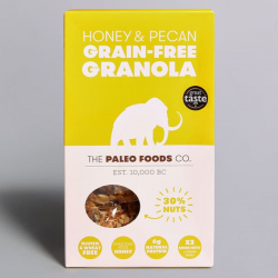 Honey & Pecan Paleo Granola - 300g