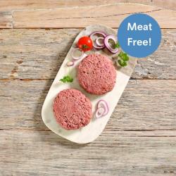 2 x Hooba Meat Free Premium Burgers