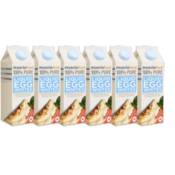 Fresh Liquid Egg Whites - 6 x 1 Litre Cartons