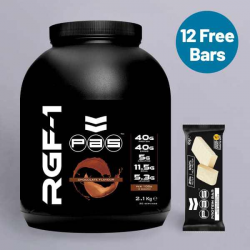 PAS Whey Protein Chocolate + Free Protein Bars