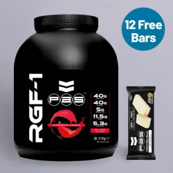 PAS Whey Protein Strawberry + Free Protein Bars