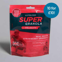 Super Granola Goji & Strawberry 65g - 10 for £10