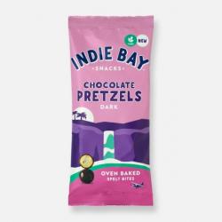 Indie Bay Dark Chocolate Coated Pretzel Bites 31g