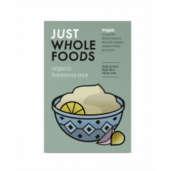 Just Wholefoods Organic Vegan Houmous Mix