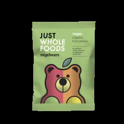 Just Wholefoods Vegebears Fruit Jellies