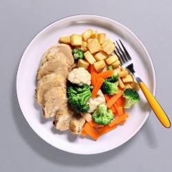 Roast Chicken Dinner - 366 kcal