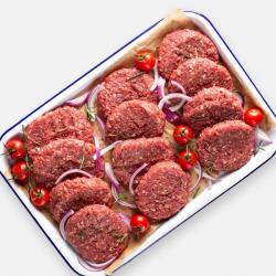 Lean Free Range Steak Burgers - 12 x 114g