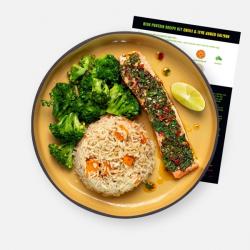 Levi Roots Chilli & Lime Baked Salmon Recipe Kit