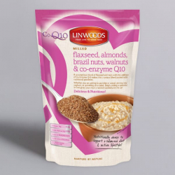 Milled Flaxseed, Mixed Nuts and Q10 - 200g