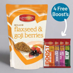 Linwoods Organic Milled Flaxseed & Goji Berries 425g