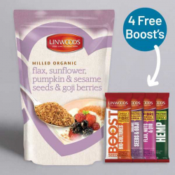Linwoods Milled Flaxseed & Sunflower, Pumpkin, Sesame and Goji 425g