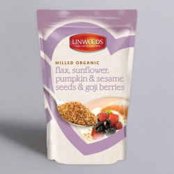 Flaxseed & Sunflower, Pumpkin, Sesame and Goji 425g - Healthy bones and teeth