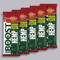 Linwoods Seed Boost - Shelled Hemp 5 x 15g