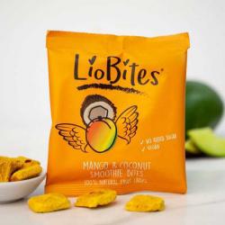 LioBites Freeze Dried Mango & Coconut Smoothie Bites