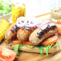 6 x 38g Low Fat Pork Sausages