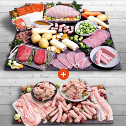 Luxury Turkey Butterfly 2kg Hamper + Your £1 Trimmings