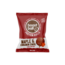 Boostball Cinnamon and Maple Roll Protein Balls