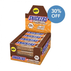 Snickers Peanut Butter Protein Bars - 30% OFF