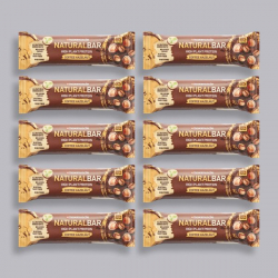 Maximuscle Natural Bar Coffee Hazelnut -10 x 40g