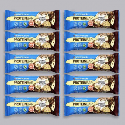 Maximuscle Protein Bar - Cookies & Cream - 10 x 55g