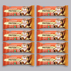 Maximuscle Protein Bar - Peanut Butter - 10 x 55g