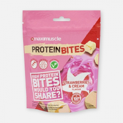 Maximuscle Protein Bites Strawberries & Cream 110g